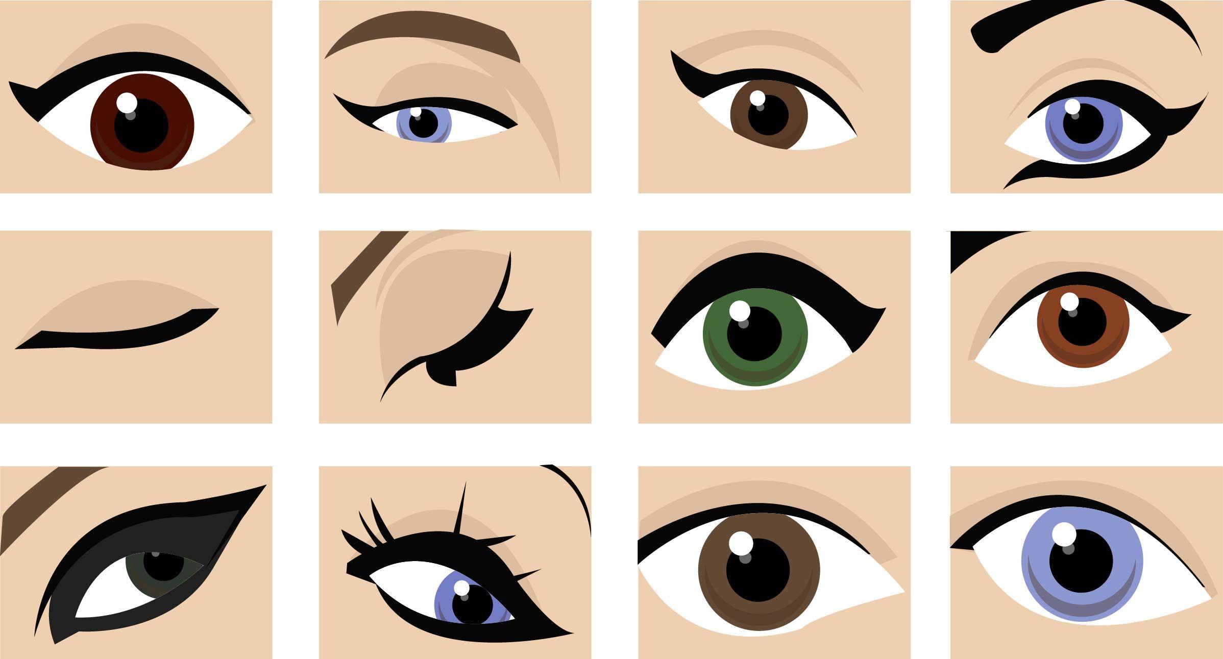 Trendimi Makeup, Eye shapes, Beauty makeup