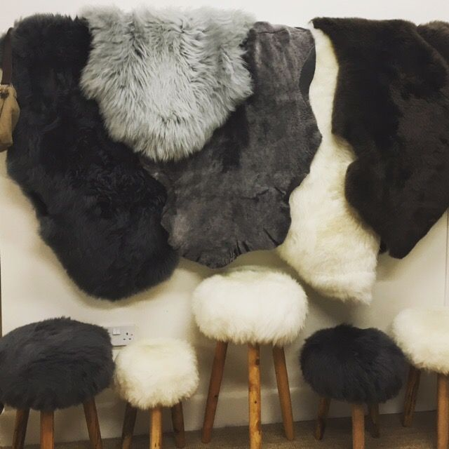 Natural British sheepskin