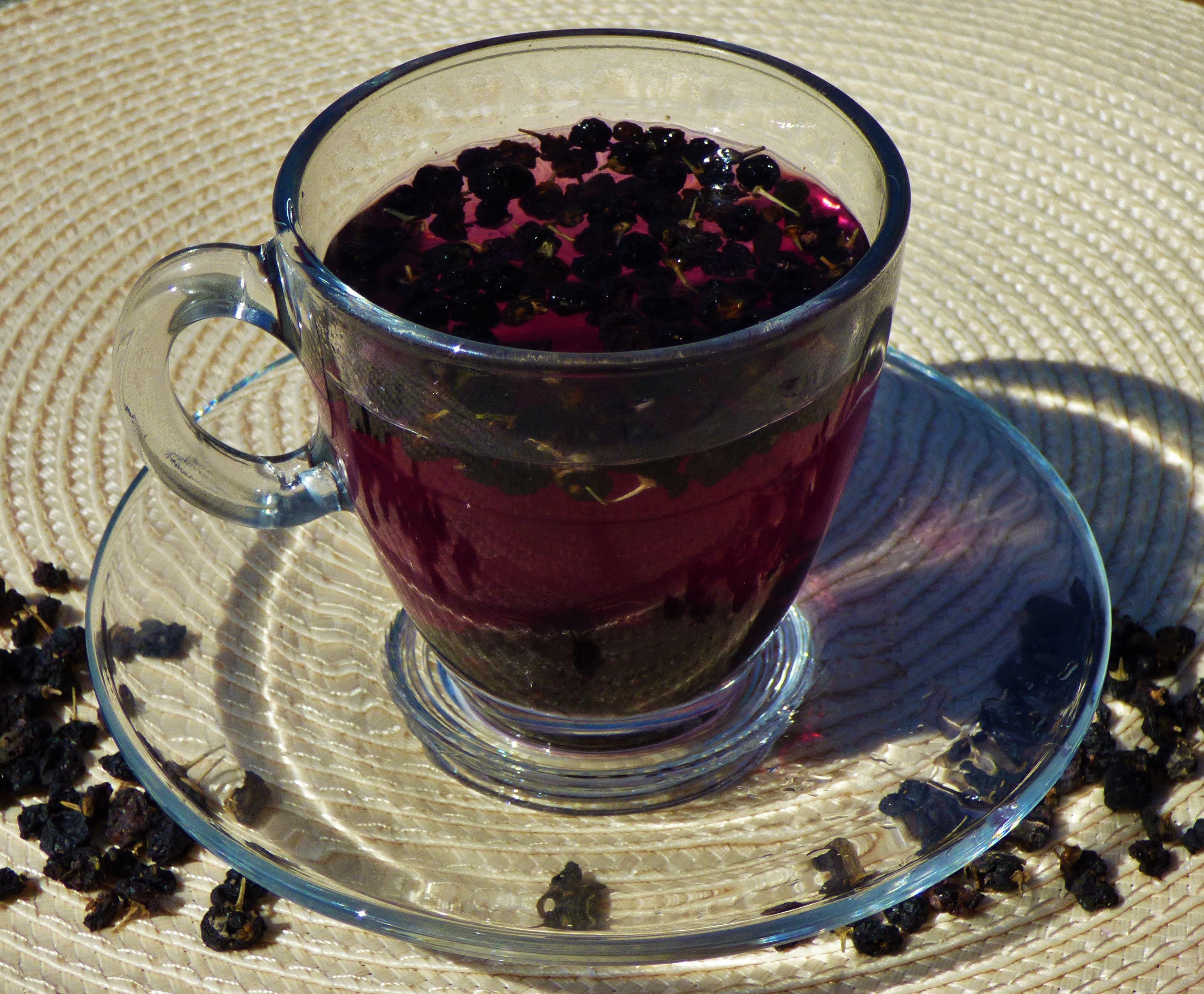 Black Goji Berry Tea Lycium Ruthenicum Berry Tea Goji Berries