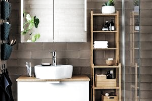 Badezimmer Ratgeber Planer Ideen Montagevideos Ikea Deutschland In 2020 Small Bathroom Diy Space Saving Bathroom Storage