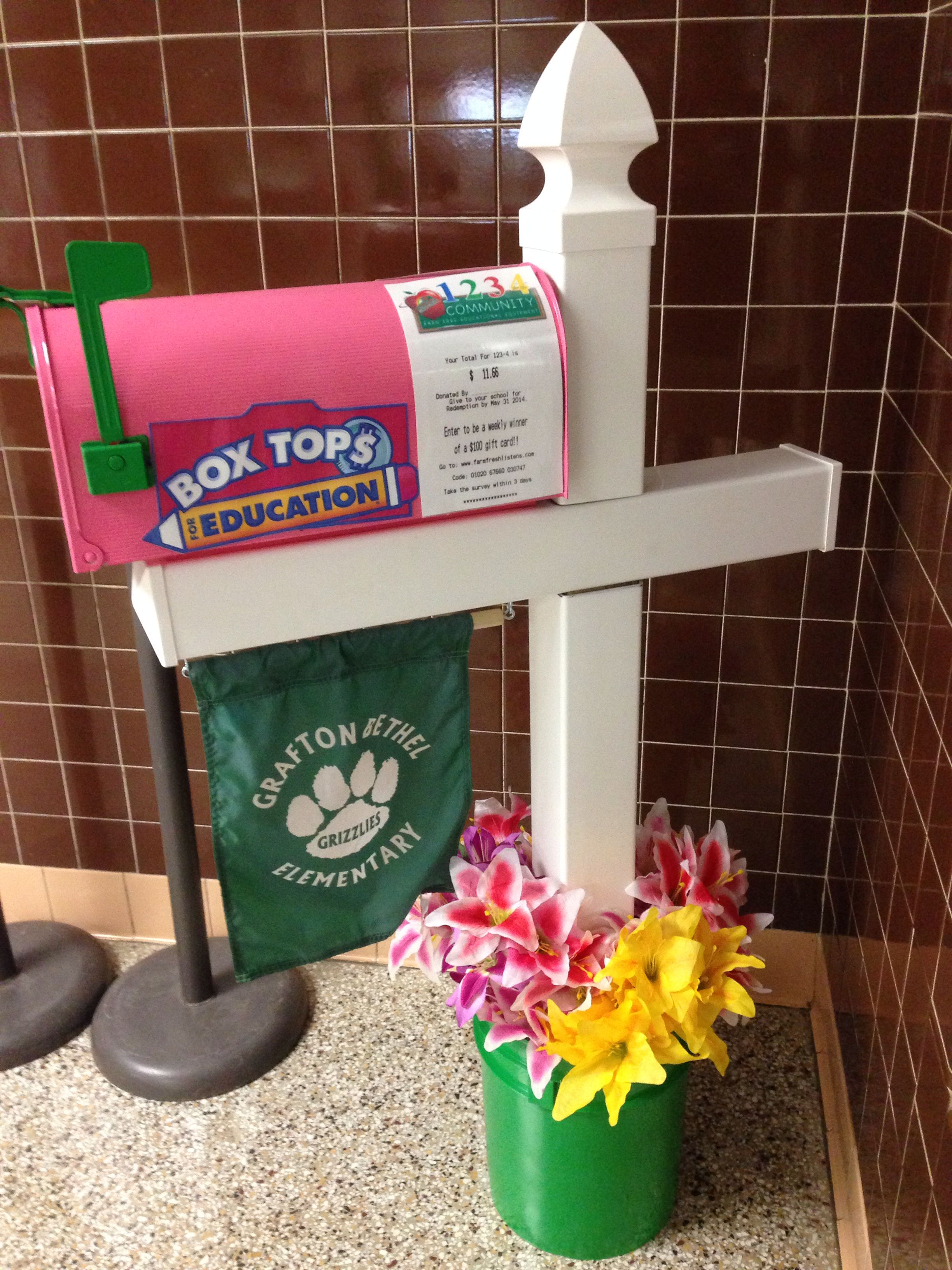 Gbes Pta Box Tops Campbell S And Farm Fresh Mailbox