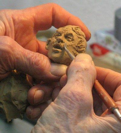 michael garman sculpting again after a 5 year hiatus michael rh pinterest com