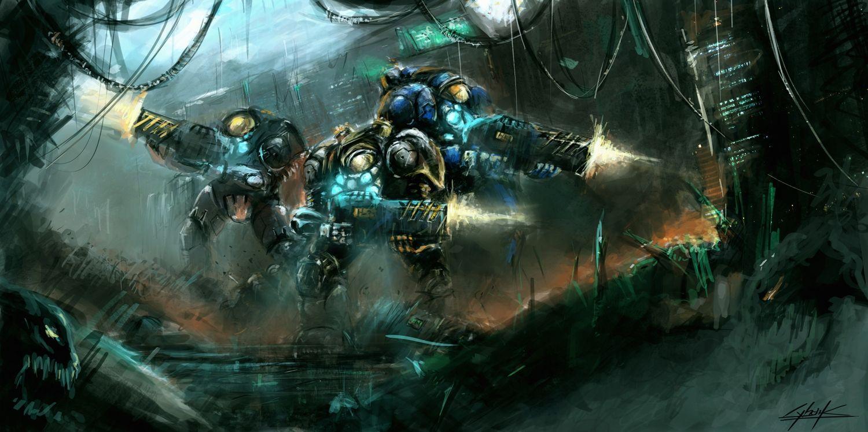 Starcraft 2 terran gaming pinterest starcraft - Starcraft 2 wallpaper art ...