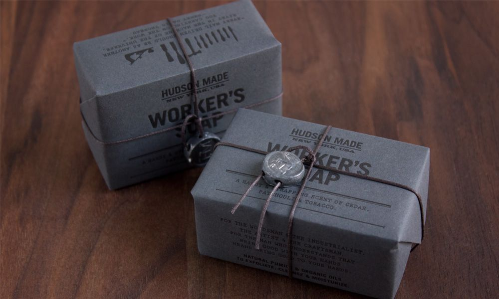 Hudson Made Soap By Hovard Design Verpackungsdesign