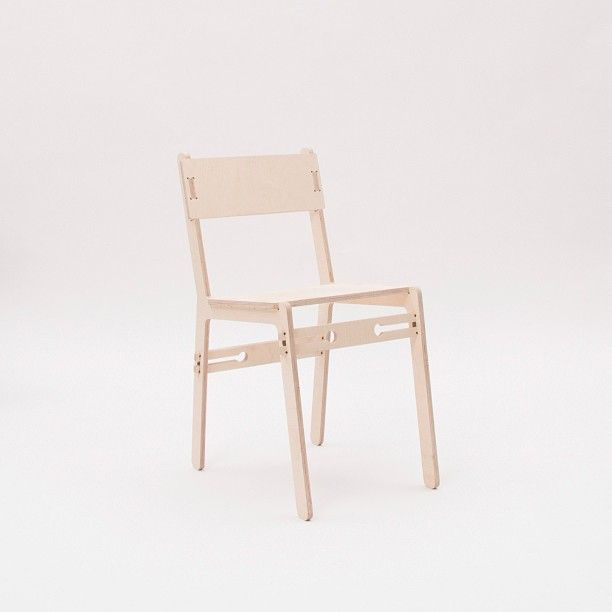 Unit Chair A Flat Pack Furniture Collection Ready To