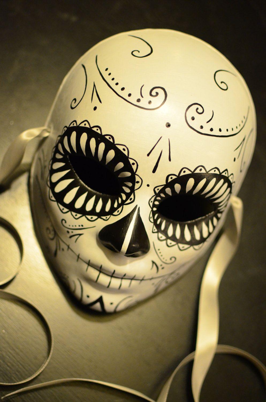 Death Mask Day of the Dead Deadpool Mask Dia De by HikariDesign ...