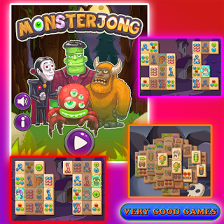 Monsterjong Mini games, Best games, Games