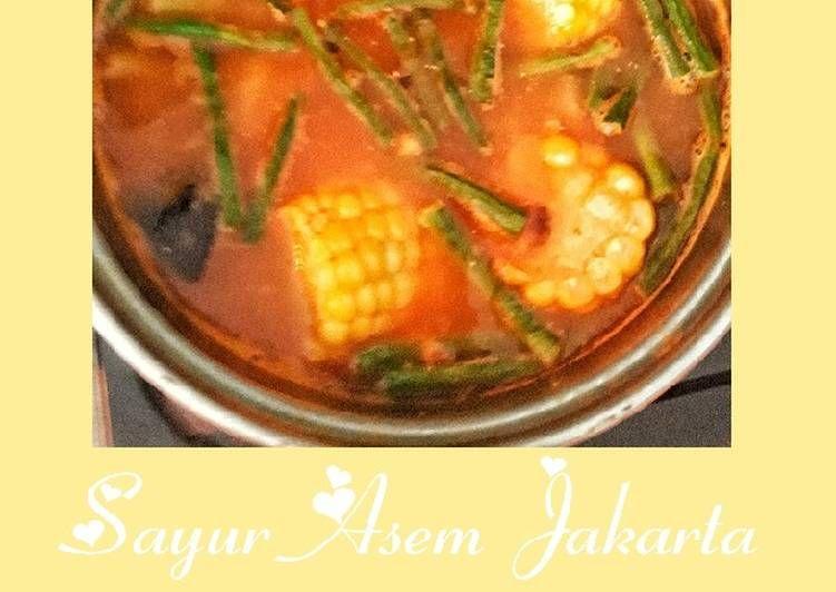 Resep Sayur Asem Jakarta Oleh Safierah Resep Resep Sayuran Makanan