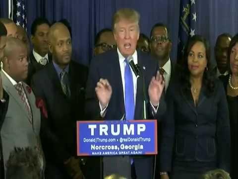 Donald Trump Press Conference Norcross Georgia 10 10 15 Duration