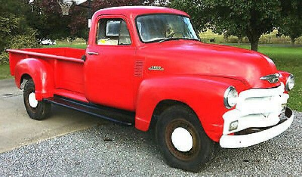 1954 Chevy Advanced Design 3800 With 9ft Bed Cool Trucks Chevy Trucks Chevy