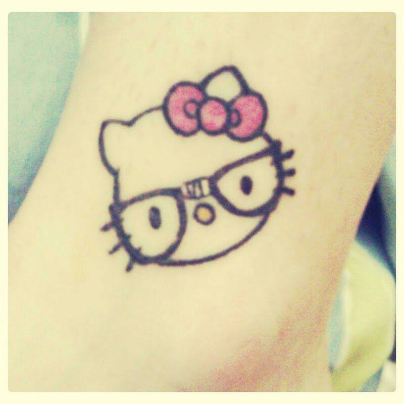 Hello Kitty | Paw print tattoo, Print tattoos, Tattoos