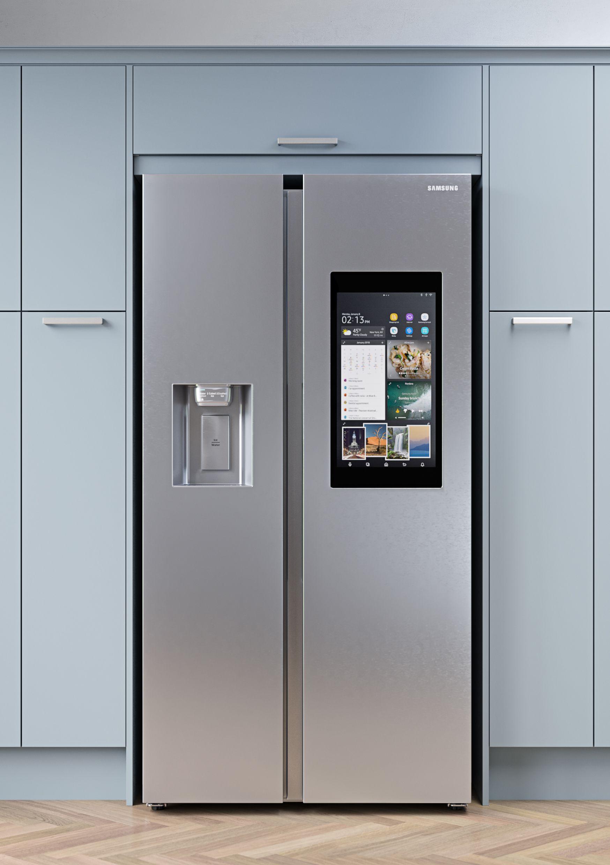 Smarter Kitchen Living Samsung Fridge Samsung Smart Fridge