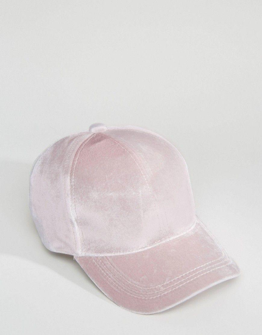 4c4133cf4 Velvet Baseball Cap | Accessories | Baseball cap, Velvet hat ...