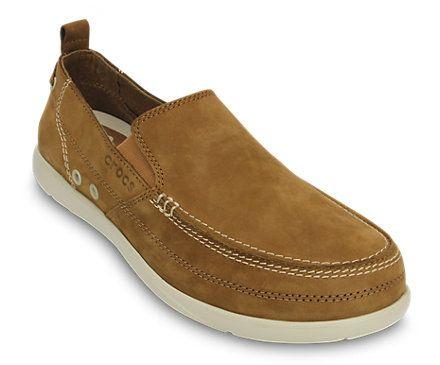 Crocs Men S Harborline Nubuck Loafer Men S Comfortable Loafers