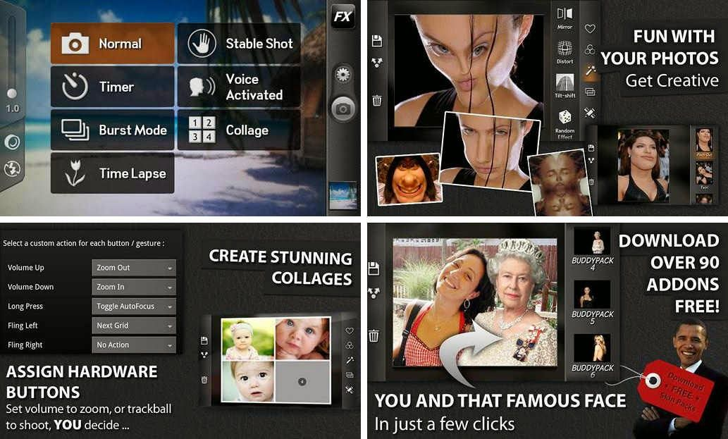 Camera ZOOM FX Full Apk Camera, Android, Download camera