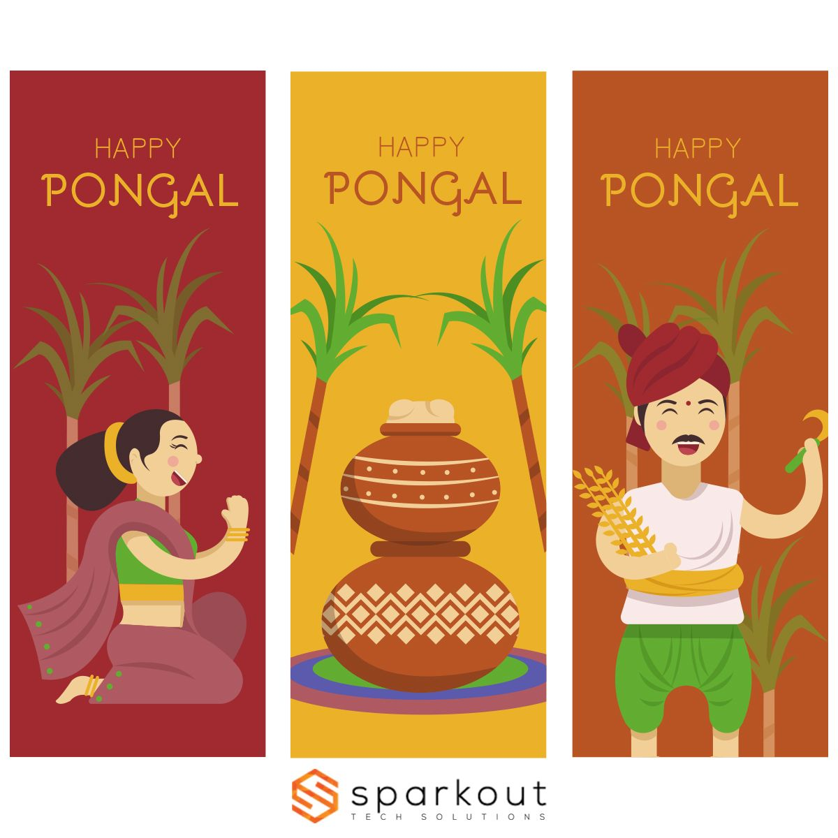 Home On Demand Apps Vector free, Happy pongal, Free