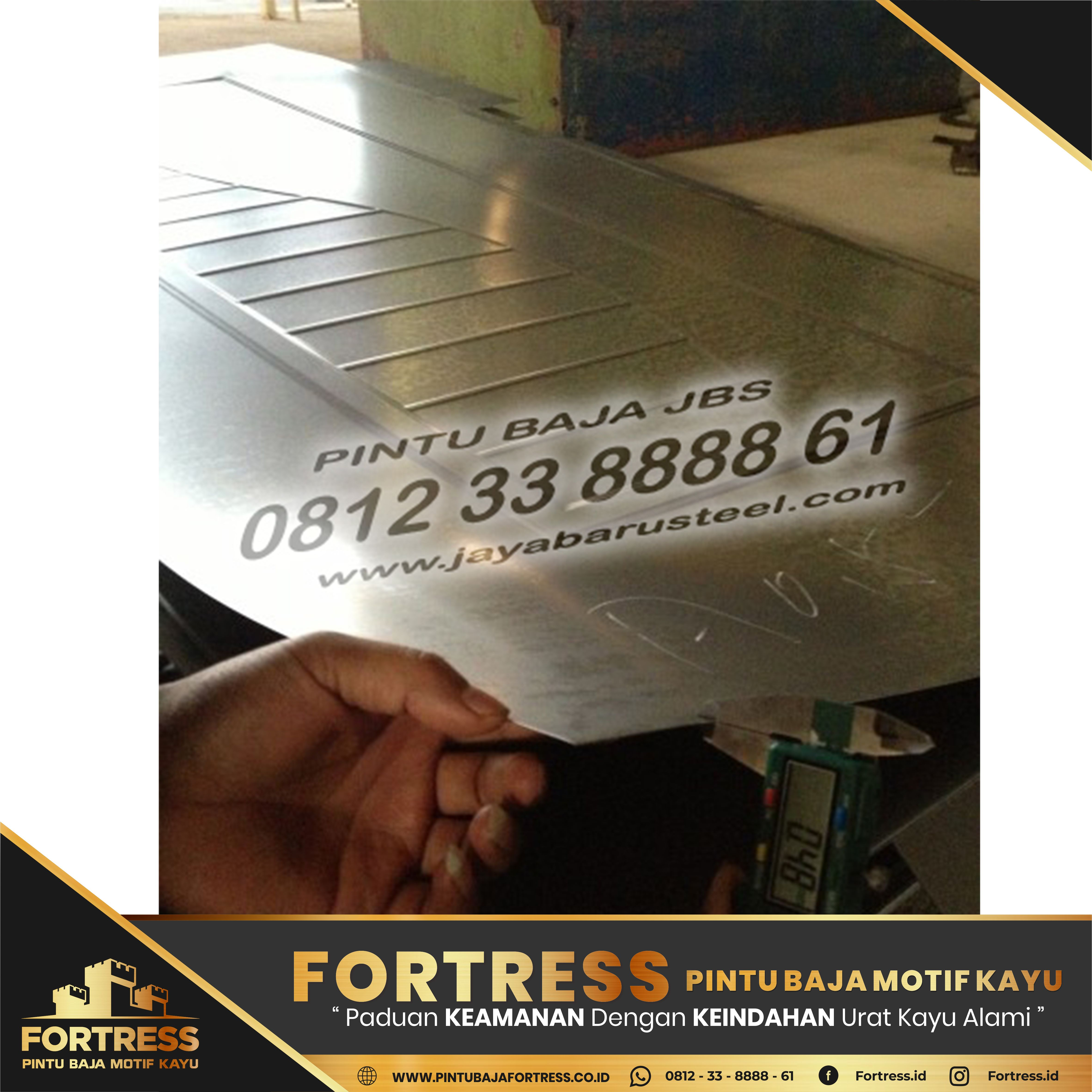 0812-91-6261-07 (FORTRESS) Lightweight Steel Door Door …