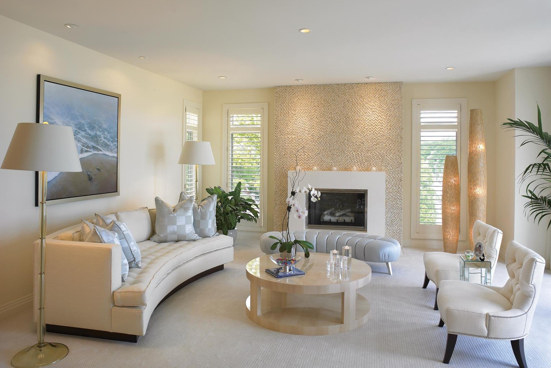 Beyond White: Bliss Of Soft And Elegant Beige Living Rooms! Part 26