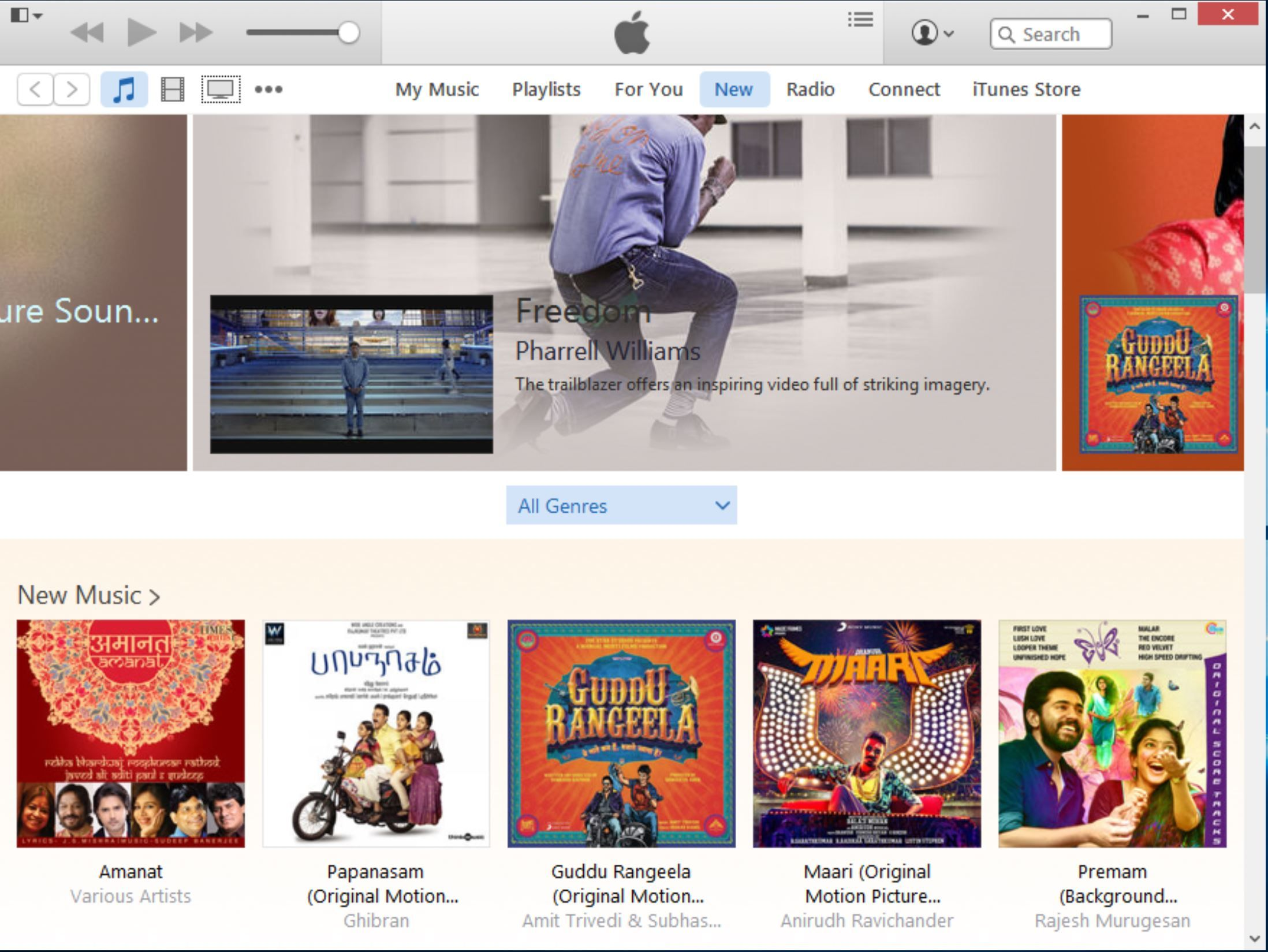 iTunes launch in the Microsoft Store is apparently