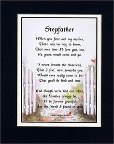 Image Result For Step Dad Poem Wedding Poems Fathers Day Father