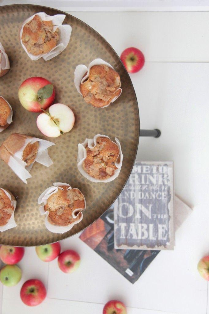Apple muffins :-) Pretty yummy
