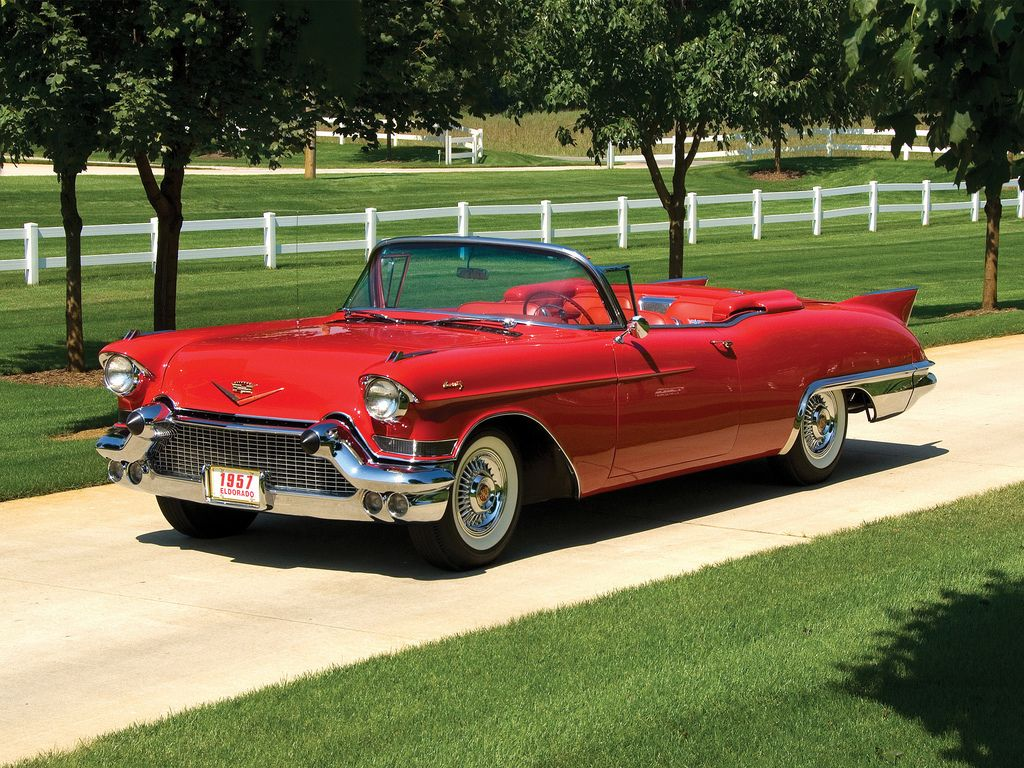 57 cadillac eldorado biarritz convertible cars coches General motors convertibles