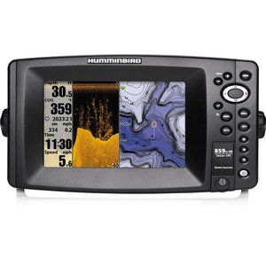 Humminbird 409140-1 859ci HD DI Combo Color Fish Finder with Down-Imaging and Internal GPS (Grey) - Fish Finders & Depth Finders Product Features Internal GPS New Higher Speed Processor 360 Imaging Compatibility I-pilot Link Compatibility New Cosmetics 7″ Color Display GPS Chart plotting with ContourXD Maps Down Imaging and Dual Beam PLUS Sonar Optional Ethernet...