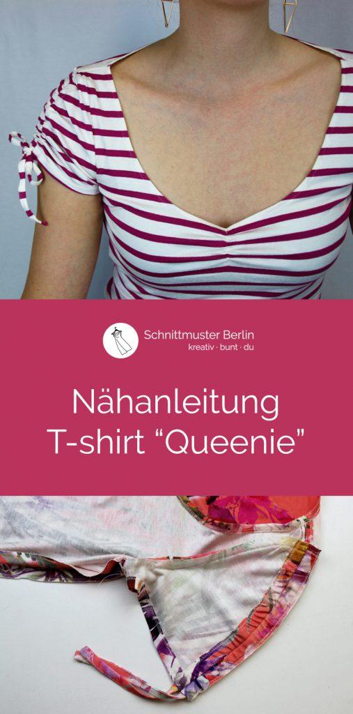 Nähanleitung Shirt Queenie - Blog Schnittmuster Berlin
