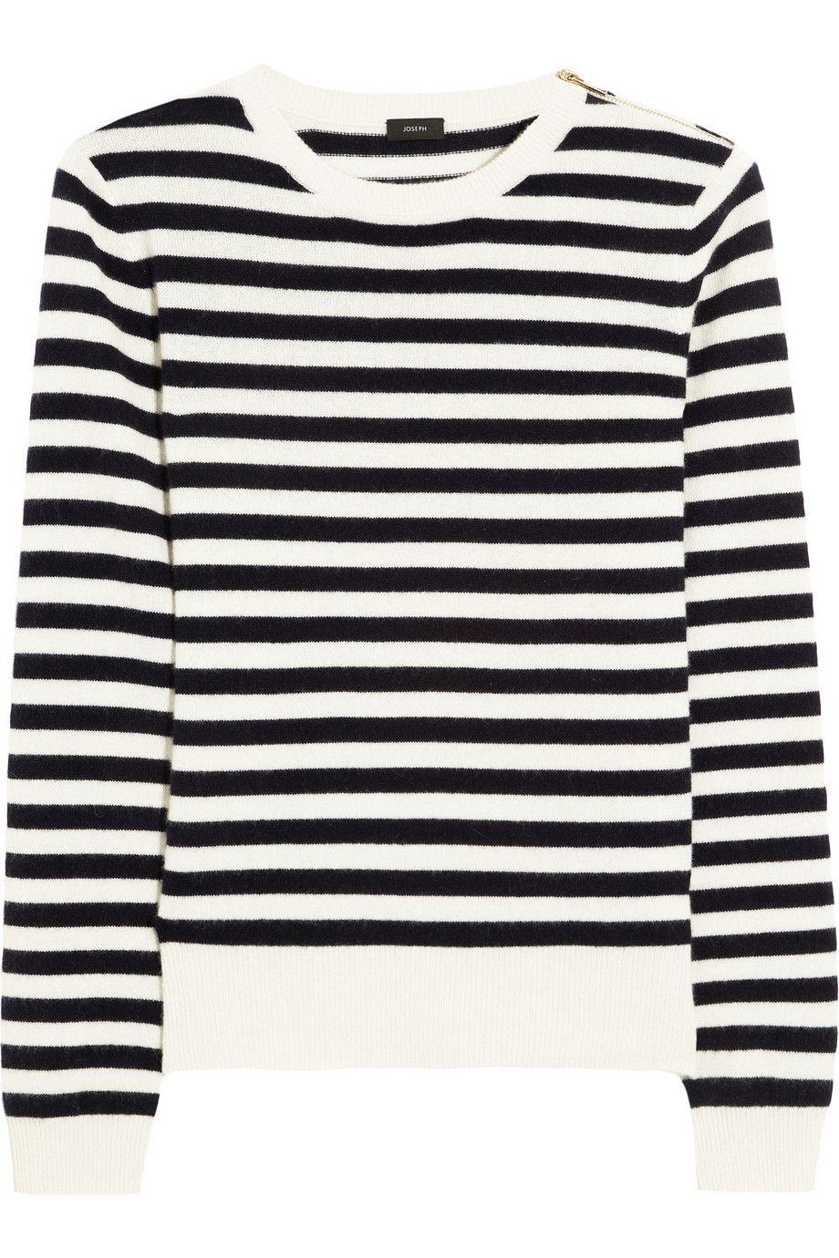 Joseph | Sailor striped cashmere sweater | NET-A-PORTER.COM ...