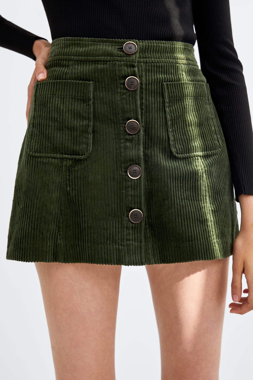 b7426f477 Image 2 of CORDUROY MINI SKIRT from Zara | Style & Fashion in 2019 ...