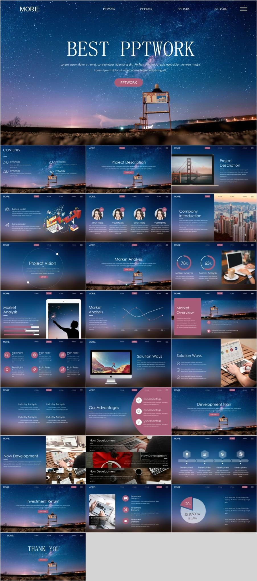 Ios Design Report Powerpoint Template Creative Infographic Ideas
