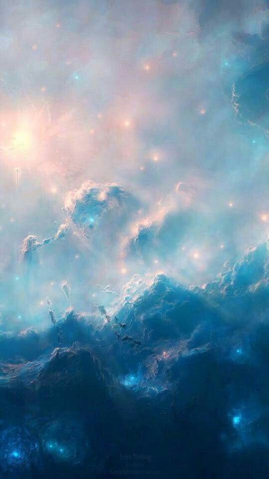 Pin by farah on 22 niedliche hintergrundbilder - Deep blue space wallpaper ...