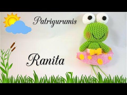 Tutorial Rana Portafoto AMIGURUMI (1° di 3) - YouTube   360x480