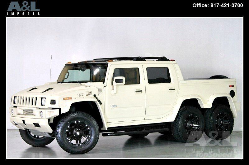 Did You See This As The Hummer H2 Sut 6 Wheeler Hummer Hummer H2 Hummer H1