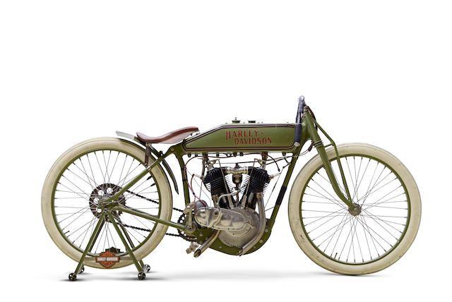 C.1920 Harley-Davidson 'Board Track' Racing Motorcycle