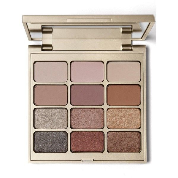 Stila Matte 'N Metal Eye Shadow Palette (440 SEK) ❤ liked on Polyvore featuring beauty products, makeup, eye makeup, eyeshadow, one colour, palette eyeshadow, stila eye shadow, stila and stila eyeshadow