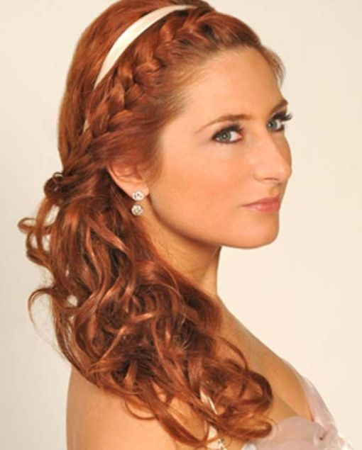 Fancy side pony with braid | Hair | Bridal hairstyles with braids ...