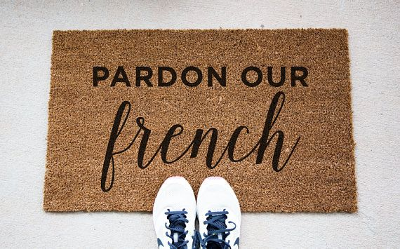 Pardon Our Doormat Funny Doormat Mat Funny