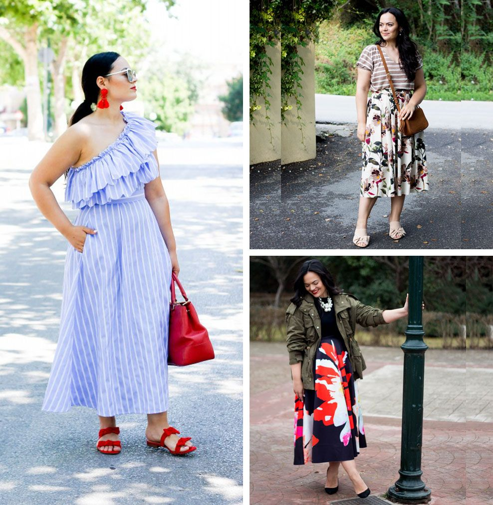 9 Mid Size Fashion Bloggers Irene The Daily Lace Fashion Fashion Blogger Full Figure Fashion