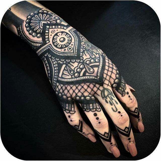 Blackwork #tattoodo