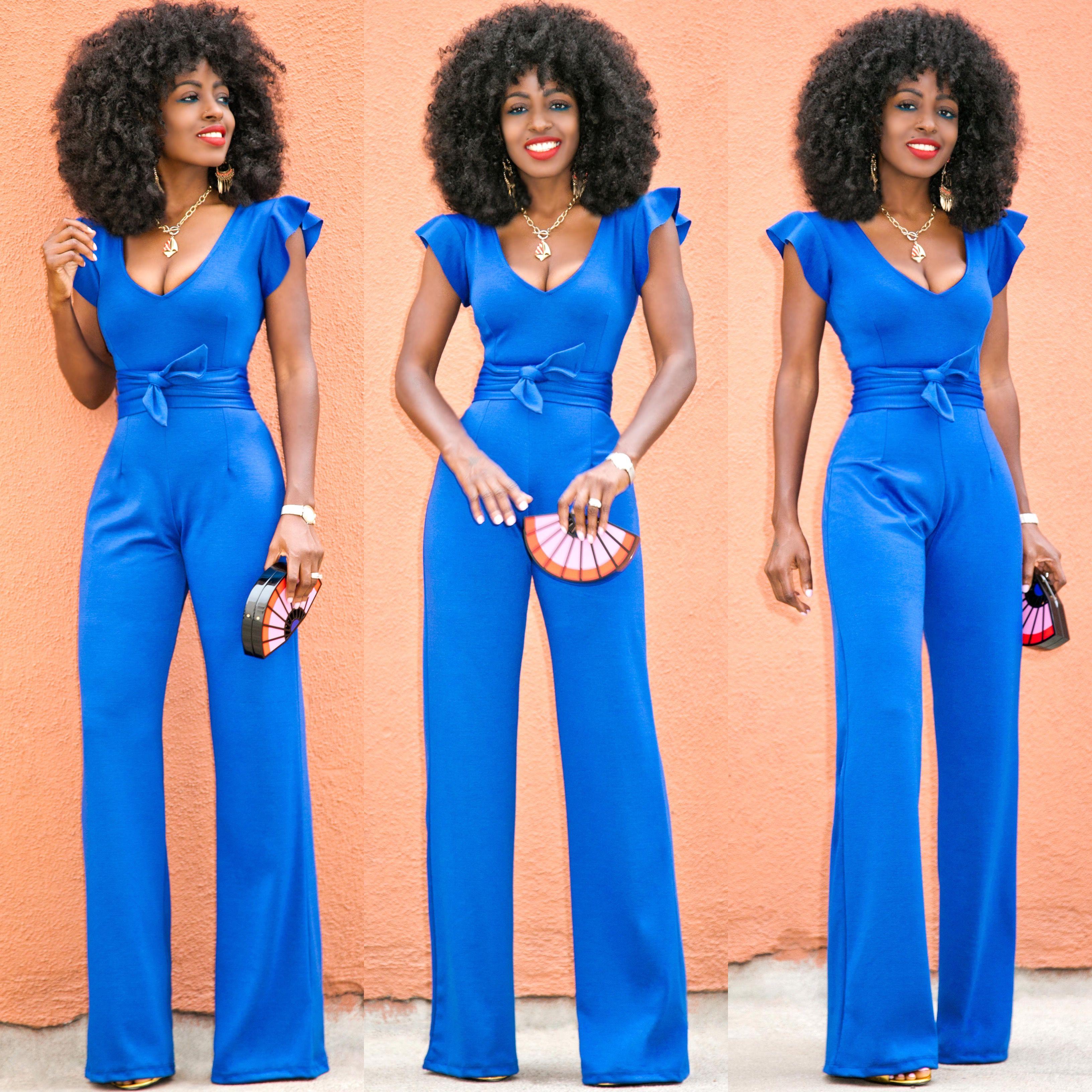 Short Frill Sleeves Jumpsuit | My Style | Pinterest | Shorts ...