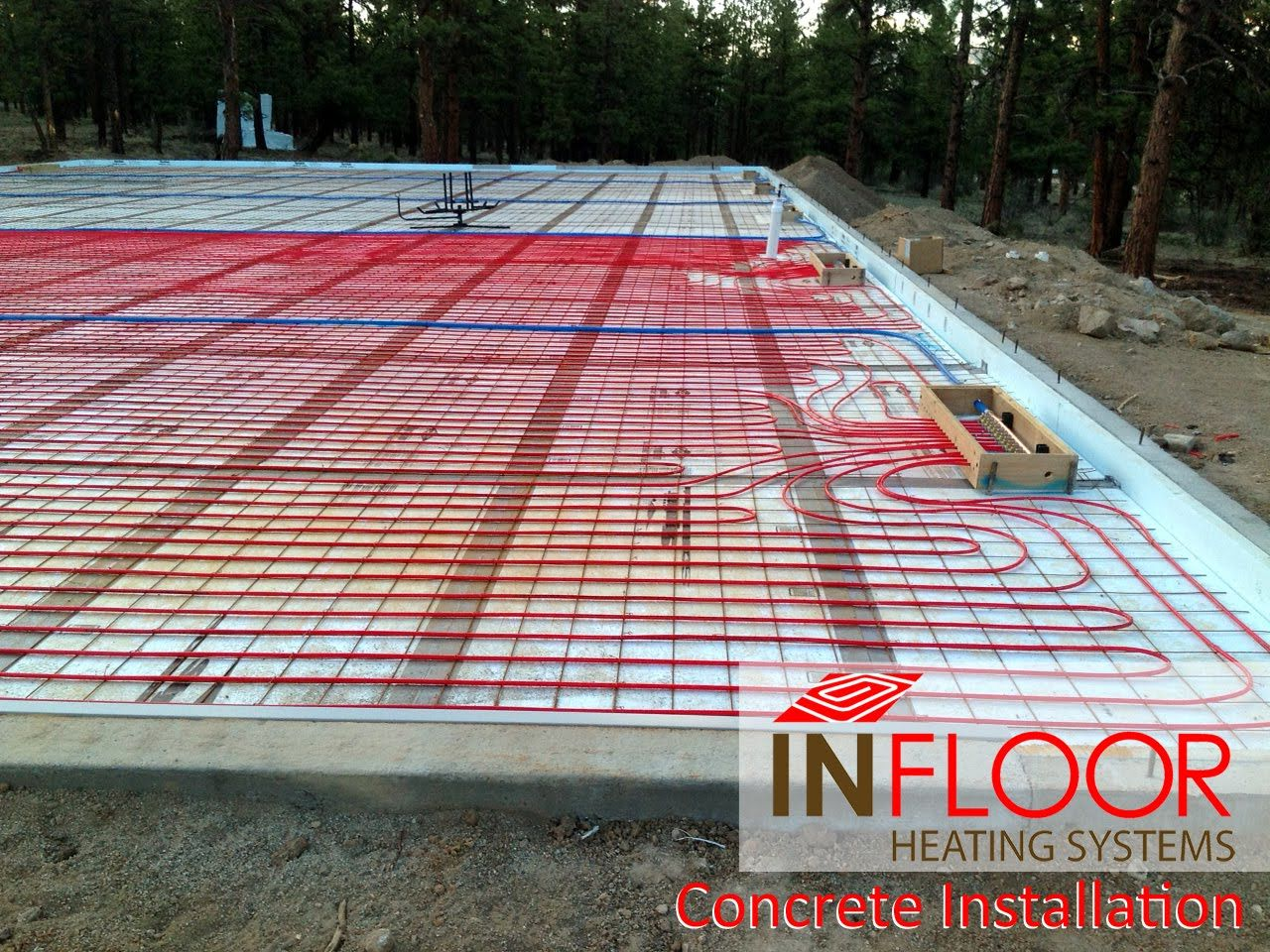 Hydronic Radiant Heating Concrete Application Hydronic Radiant Heat Radiant Floor Heating Radiant Heat