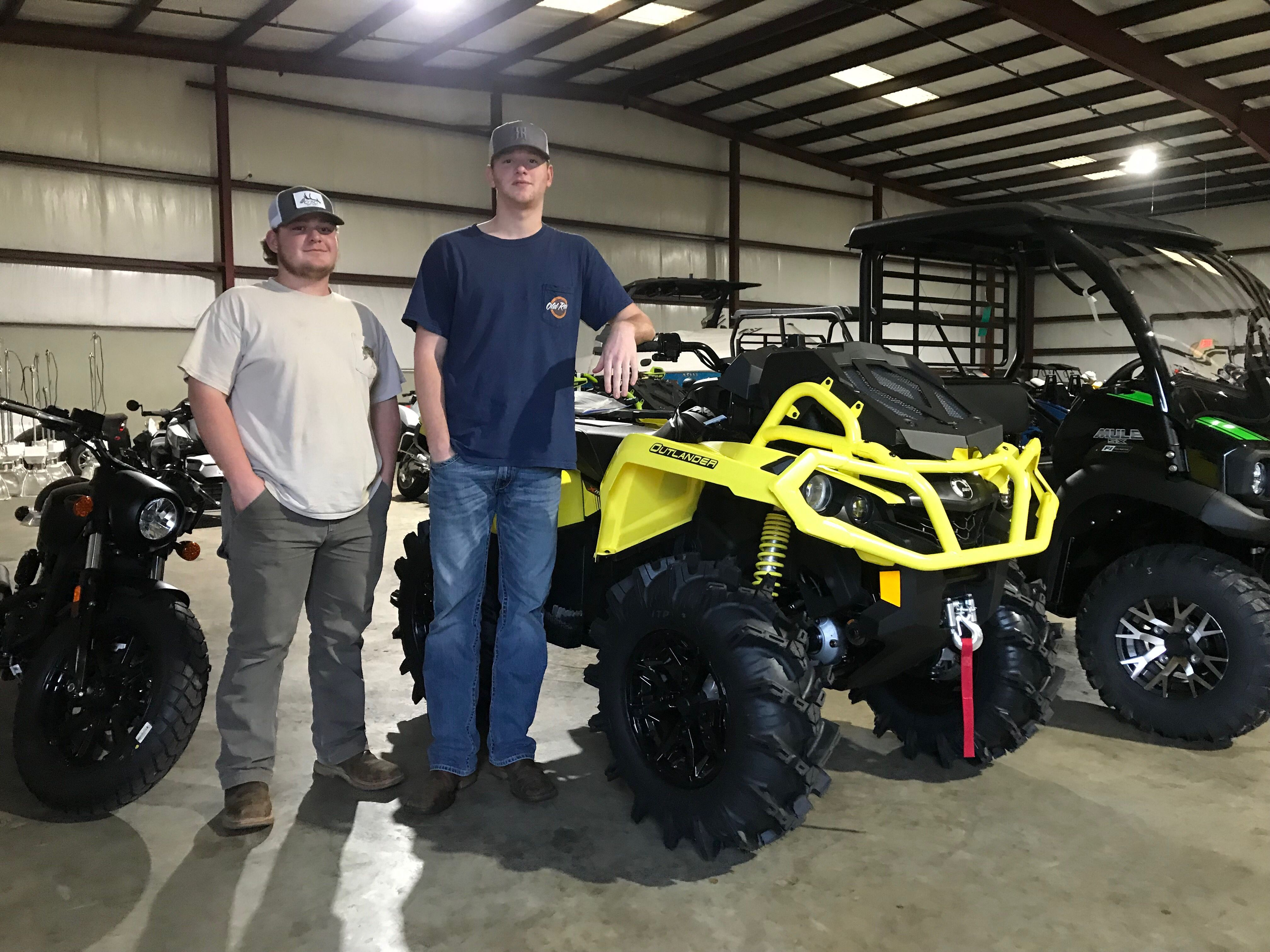 Congratulations to Reed Hunt and Trent Sargent from Mobile