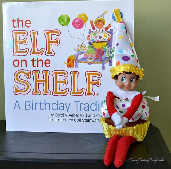 The Elf On The Shelf®: A Birthday Tradition Book & Outfit