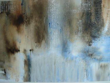 """Saatchi Art Artist Laura Groenhart; Painting, """"landschap van de ziel/landscape of the soul"""" #art"""