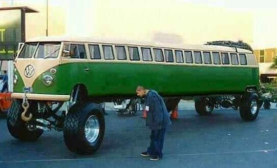 Woa that's a long VW bus richtergear.com
