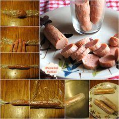 Ricetta Wurstel Fatti In Casa.Wurstel Di Pollo Fatti In Casa Con Passo Passo Fotografico Ricette Idee Alimentari Wurstel
