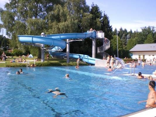 Camping Luxemburg Groot Zwembad Zwembad - Camping Plage | Campings Luxembourg - Camping