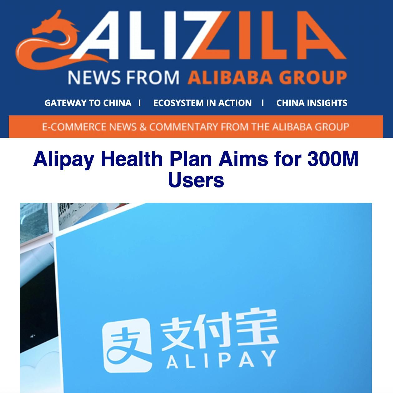 This week at Alibaba: Alipay helps low-income consumers ...