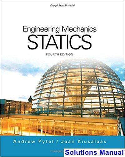 Statics 4th Edition Engineering Mechanics Aerospace Engineering ...